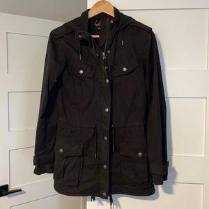 Black talula xxxs trooper/utility jacket